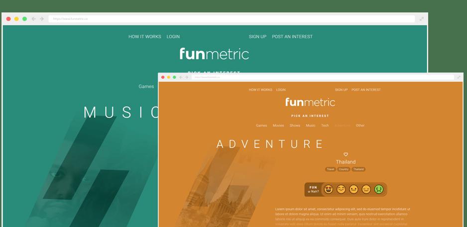 Funmetric Browser